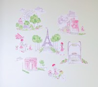 Parisian Decals | Pottery Barn Kids
