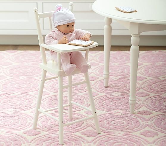 Baby Doll High Chair  Pottery Barn Kids