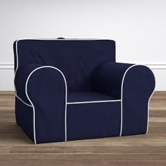 Pottery Barn Oversized Anywhere Chair Sure Fit Dining Slipcovers Chair® Replacement Slipcover | Kids