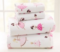Ballet Flannel Sheeting | Pottery Barn Kids
