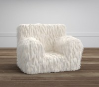 Llama Faux Fur Anywhere Chair