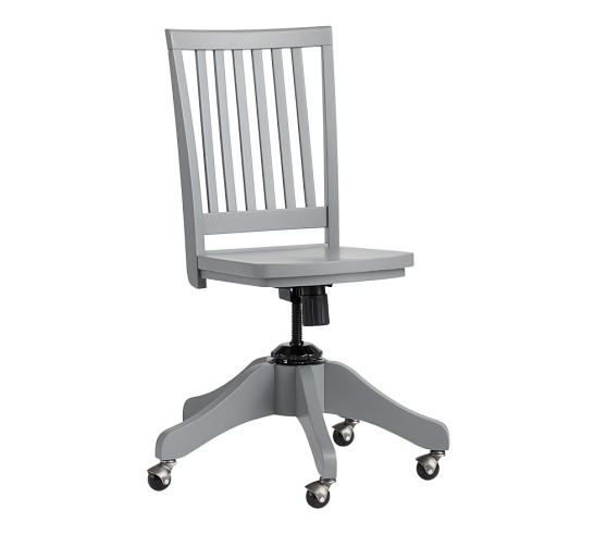 airgo swivel desk chair kitchen table chairs and bench pottery barn white – home decor