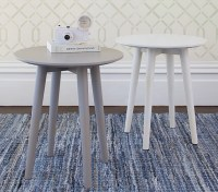 Modern Spindle Side Table | Pottery Barn Kids