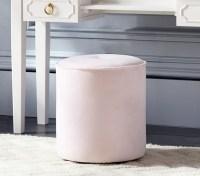 Upholstered Vanity Stool | Pottery Barn Kids