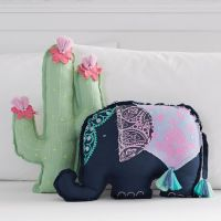 Tassel Shaped Pillows | PBteen