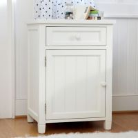 Beadboard Cabinet Bedside Table | PBteen