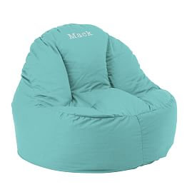 leanback lounger chairs beach that lay flat plush & soft seating   pbteen