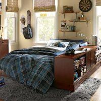 Ultimate Bookcase Storage Bed Set | PBteen