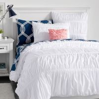 Pucker Up Comforter, XL Twin, White | PBteen