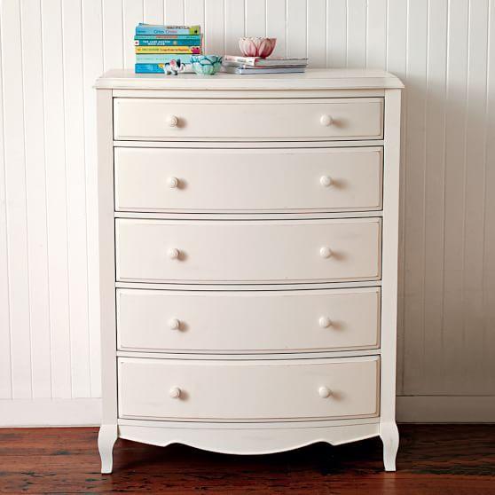 Lilac Tall Dresser  PBteen