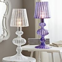 Reagan Glass Table Lamp | PBteen