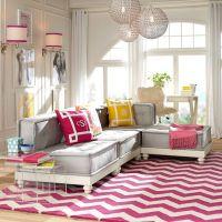 Cushy Lounge Super Sectional Set | PBteen
