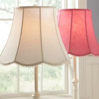 Scallop Floor Lamp Shade