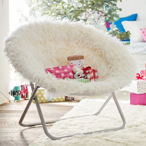 Splurge: These Chairs From PB Teen Cost Over $100 Each.