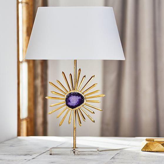 Agate Table Lamp