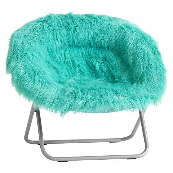 Pool Furrific FauxFur HangARound Chair  PBteen
