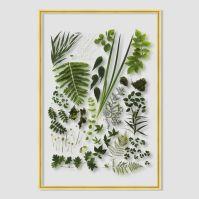 Still Acrylic Wall Art - Spring Botanicals | west elm