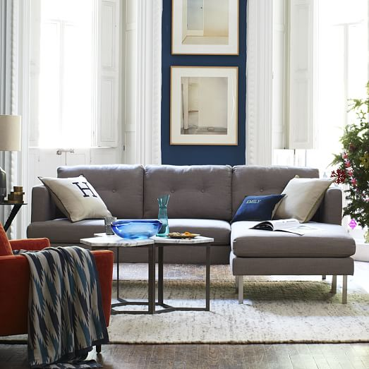 jackson sofa west elm refurbish malaysia 2-piece chaise sectional |