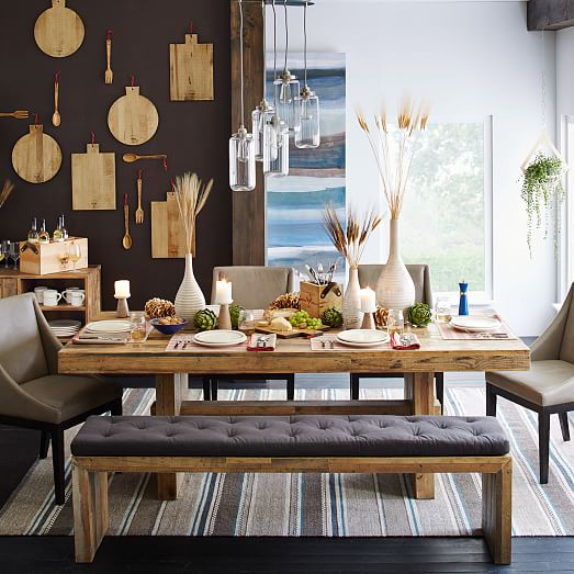 kitchen banquettes for sale homemade cabinets emmerson™ reclaimed wood dining bench | west elm