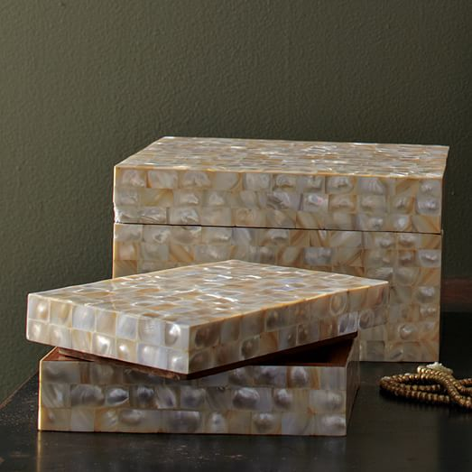 Mother Of Pearl Boxes West Elm
