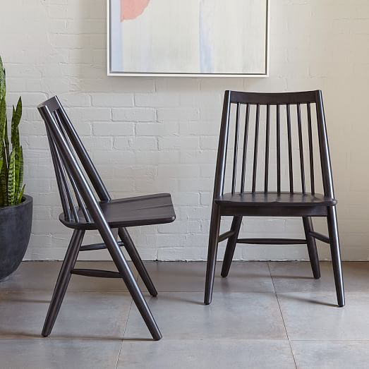 Scissor Spindle Dining Chair  Sets  west elm