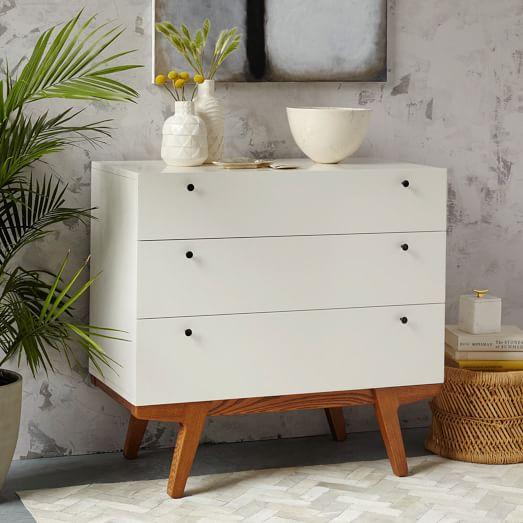 Modern 3Drawer Dresser  west elm