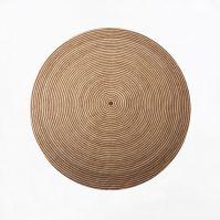 Round Braided Rug   west elm