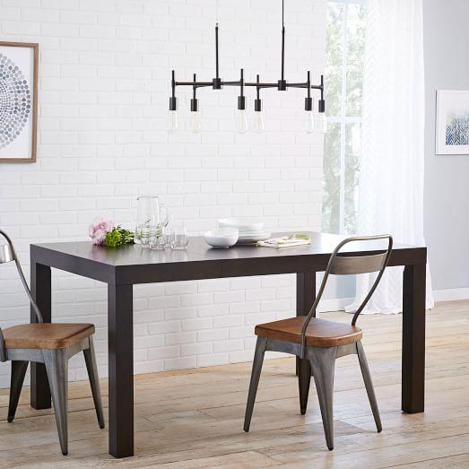 Parsons Expandable Dining Table  West Elm