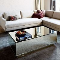 Geo Mirror Storage Coffee Table | west elm