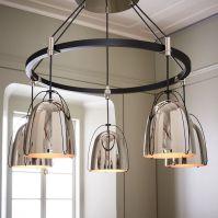 Rejuvenation Haleigh Wire Dome Chandelier - 5-Light (Round ...