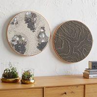 Sequin Hoop Wall Art | west elm