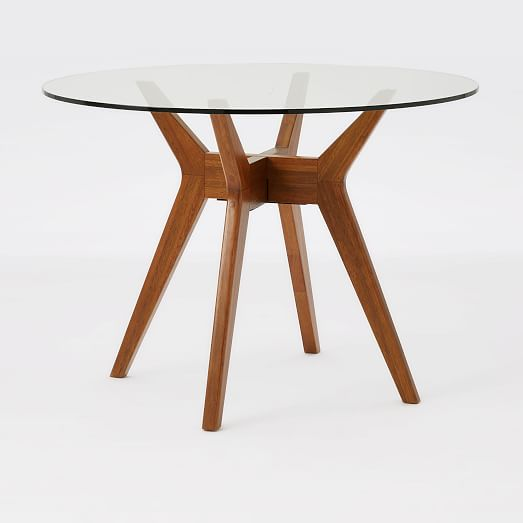 Round White Dining Room Table