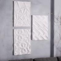 Papier-Mache Wall Art - Geo Panel | west elm