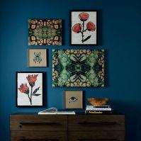 Patch NYC Framed Prints - Floral Collage | west elm
