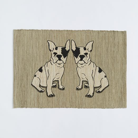 Frenchie Jute Mat