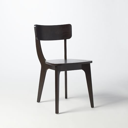 Klismos Dining Chair  Chocolate  west elm
