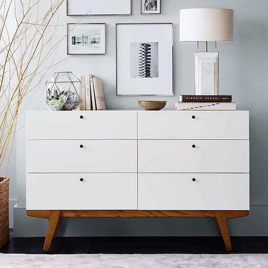 Modern 6Drawer Dresser  west elm