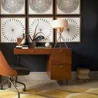 Mid-Century Tripod Table Lamp - Antique Brass | west elm