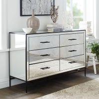 Mirrored 6-Drawer Dresser   west elm