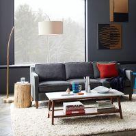 Overarching Floor Lamp- Antique Brass | west elm