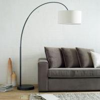 Overarching Floor Lamp - Antique Bronze | west elm