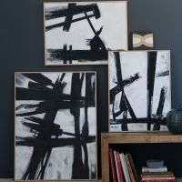 DIY: LARGE Abstract Wall Art
