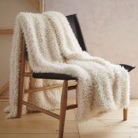 Faux Fur Sheepskin Throw | west elm