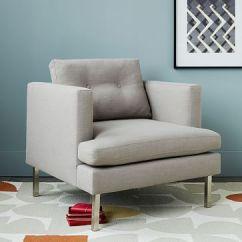 West Elm Crosby Chair Childrens Recliner Book Nook Armchair |