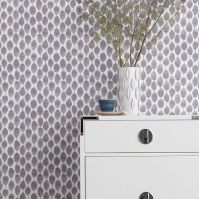 Chasing Paper Removable Wallpaper Panels  Stamped Dots