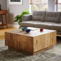 Plank Coffee Table   west elm