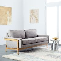 Leon Wood Frame Sofa | west elm