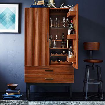 Reede Bar Cabinet  Tall  west elm