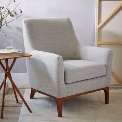 West Elm Everett Chair Portable Picnic Designer Love Sloan Upholstered By 699