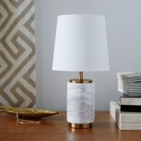 Small Pillar Table Lamp